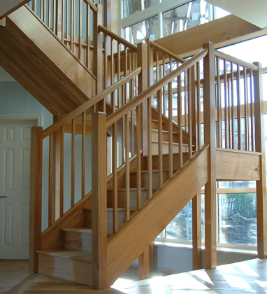 Custom made staircase